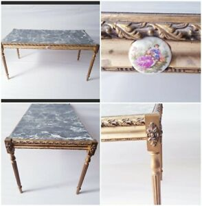 Antique French 1930s Louis XVI Style Coffee Table RARE