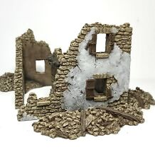 Wargame Scenery - 20mm - 1/72nd Scale - 25mm Ruin - Wargame Buildings -