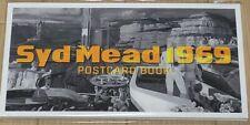 SYD MEAD Tokyo Exhibition PROGRESSIONS TYO 2019 POST CARD BOOK 1969