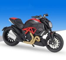 Maisto 1:18 Ducati Diavel Carbon Motorcycle Bike Model Black New