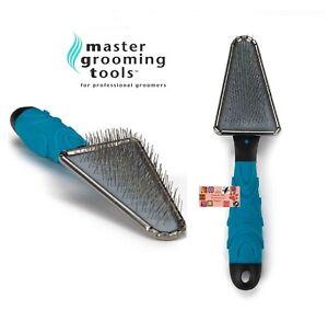 Master Grooming Tools TRIANGLE Style SOFT SLICKER BRUSH Pet Dog Cat Dematting