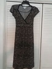 Maternity dress by Moterhood/M/ black with grey splotches A++ condition