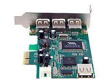 StarTech 4 Port PCI Express Low Profile High Speed USB Card Model PEXUSB4DP