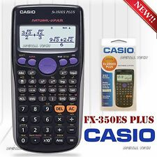 SCIENTIFIC CALCULATOR Casio FX-350ES PLUS 252 Functions Full Dot Display New!