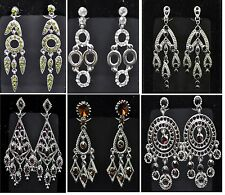 New fashion earring lot 6 pairs mixed style drop dangle earring high quality 001