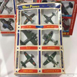 Bachmann Mini Planes World War 2 Gift Set Of 6 WW2 #8501 :360 MIB HONG KONG