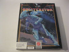 """Obliterator new factory sealed PC game 3.5"""" disk Melbourne House"""