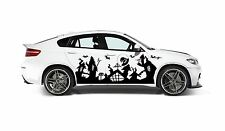 NIGHTMARE BEFORE CHRISTMAS TOWN GRAPHIC VINYL TRIBAL DECAL FOR CAR