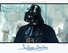 Dave PROWSE SIGNED Autograph Darth VADER Film Genuine Star Wars PRINT AFTAL COA