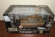 Forces of Valor 1:32 Diecast WWII German King Tiger Tank D-Day Normandy 80001