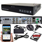 Sikker Standalone 4Ch Channel Full 960H D1 DVR Security Camera System 500GB HDD