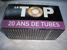 LE TOP 20 ANS DE TUBES coffret 25 cd de vol 1 au vol 25 et tres bon etat