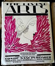 "1922  ""LIVING ARTS No. 5"" LANVIN, ORLOFF, STRAVINSKI, P MORAND; TIPPED-IN PLATES"