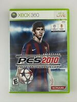 Pro Evolution Soccer 2010 - Xbox 360 Game - Tested