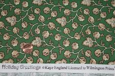 """""""HOLIDAY GREETINGS"""" 100% COTTON QUILT FABRIC BY THE YARD FOR WILMINGTON PRINTS"""