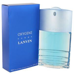 Lanvin Oxygene Fragrance 3.4oz Eau De Toilette MSRP $80 NIB