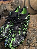 Puma Future 19.3 Netfit Fg Ag Soccer Cleats 105539 04 Black Gecko Green Size 8.5