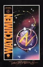 Alan Moore Watchmen Portfolio DC Comic Art Print SIGNED Dave Gibbons #9