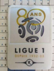 France Patch Badge LFP Ligue 1 80 ans maillot de foot OM PSG OL Monaco 12/13