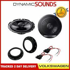 Pioneer 17cm Car Speakers + Adapters 300W for VW Touran, Transporter