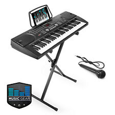 OPEN BOX - 61 Key Electronic Keyboard Piano with Stand
