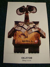 WALL.E - MOVIE POSTER - A DISNEY PIXAR FILM
