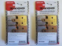 ZCOO 2 Parejas Pastillas de Freno Delantero Ex Para Kawasaki Z 1000 ABS 2008