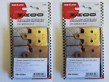 ZCOO 2 COPPIE PASTIGLIE FRENO ANTERIORE EX PER KAWASAKI ZZR A6F 1400 2007