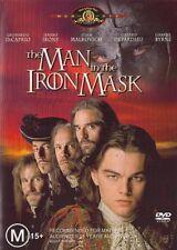 MAN in the IRON MASK (Leonardo DiCAPRIO Jeremy IRONS John MALKOVICH) DVD Reg 4