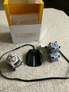 Anki Cozmo Robot Toy White Charging Dock Cubes