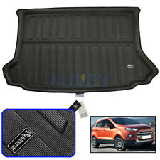 1set Interior Door Mat Cup Pads for Ford Eco Sport 13-2017 Holder Gate Slot Pad
