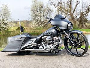 "2014 Harley-Davidson Touring Street Glide Special FLHXS 26"" Big Wheel Bagger"