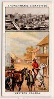Canada Alberta Manitoba Saskatchewan 1860 - 1930 WInnipeg 1930sTrade Ad Card