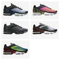 New Nike Air Max Plus 3 Airmax Multiple Colors Mens Sizes 7.5-15 Shoes