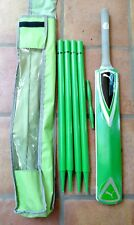 Puma youth green Cricket set