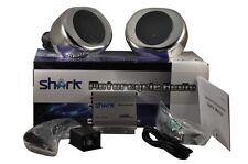 shark SHKMSC22050 motorcycle yacht snowmobile marine audio w/ knob remote+ clmps