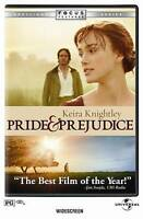 Pride and Prejudice (DVD, 2006, Anamorphic Widescreen) NEW SEALED!!
