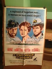 THUNDER OF DRUMS,A-RICHARD BOONE,GEORGE HAMILTON-1961-ORIGINAL MOVIE POSTER