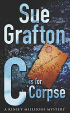 SUE GRAFTON ____ C IS FOR CORPSE ____ SHOP SOILED ___ FREEPOST UK