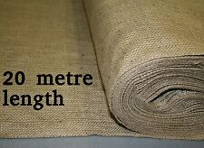 18oz Natural Hessian Fabric 1.8m wide x 20 metre length