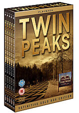 Twin Peaks Collection - Definitive Gold Box Edition (DVD, 2010, 10-Disc Box Set)