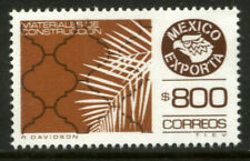 MEXICO Exporta 1499 $800P Constructuction Materials Fosfo Paper 10 MNH