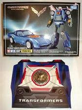 TRANSFORMERS TAKARA G1 MASTERPIECE TRACKS MP-25 + COLLECTORS COIN MISB