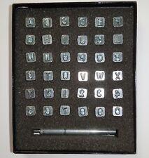Leathercraft alphabet tampon et numéro Leather Stamping Tool Set 1/4 Pouces - 7 mm