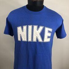 409d8f08b05cdc VTG Nike T Shirt Blue Tag Dome 80s USA OG Swoosh Sportswear Tee Large Jordan  90s