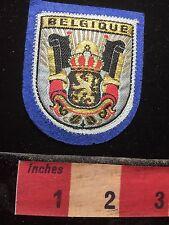 BELGIQUE Patch Belgium Lion Heraldry Crest 72A1