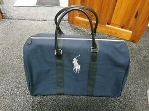 Ralph Lauren Dark Blue Executive Duffle Bag / Weekend / Travel / Gym / Holdall