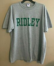 Men's Russell Athletic Size L - Gray Ridley Short Sleeve Tee Top T-Shirt