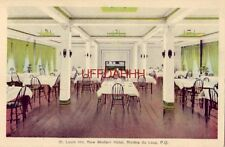 1937 ST. LOUIS INN, NEW MODERN HOTEL, RIVIERE DU LOUP, QUEBEC CANADA on Route 2