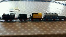 Vintage 122 lego train with shell 136 + 137 and 6x12 carriages